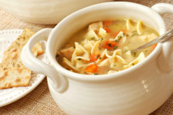 zacskós leves