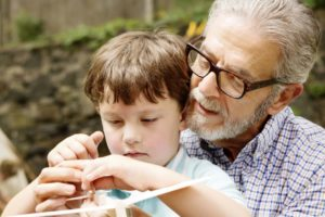 nagyapák unokák