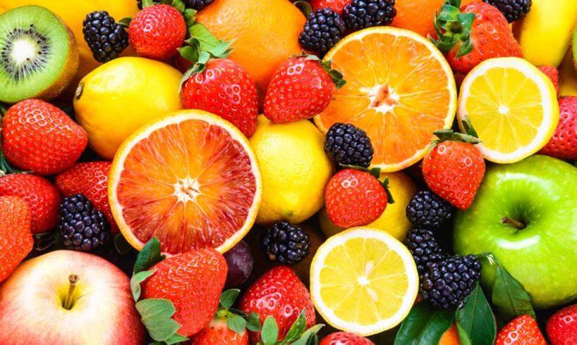 gyümölcsök a szénhidrát